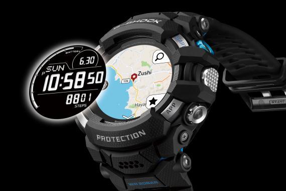 G-Shock lance sa première SmartWatch, la GSW-H1000