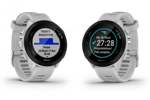 La Garmin Forerunner 55, la nouvelle montre de sport pour débuter