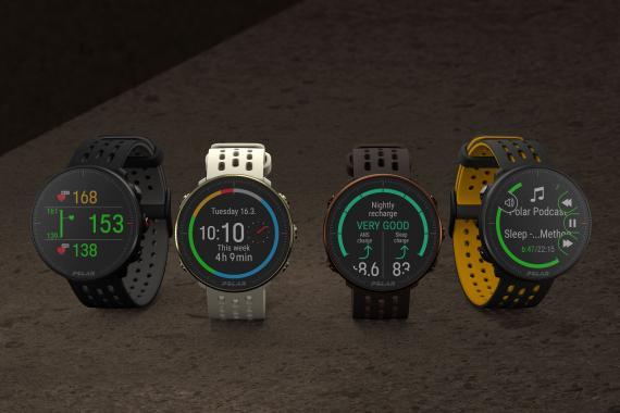 Polar lance 2 nouvelles montres GPS, la Ignite 2 et la Vantage M2