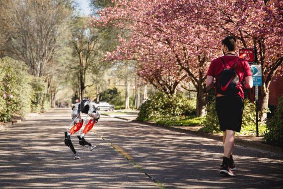 Un robot apprend à courir 5km presque seul