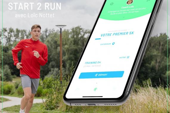 Start 2 Run, l'application de course à pied