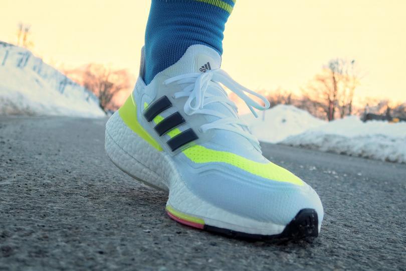 Adidas UltraBoost 21, sur la route en montée