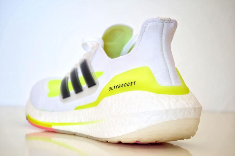 Adidas UltraBoost 21| L'épais talon Boost