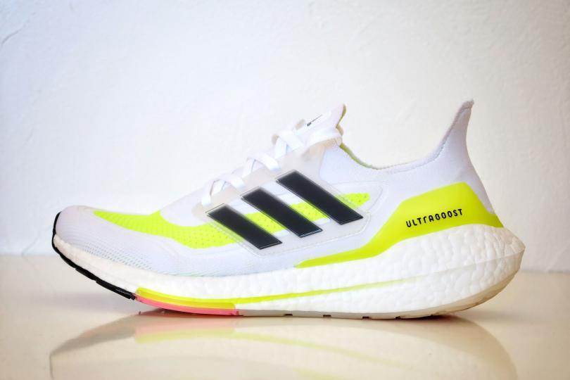 Adidas UltraBoost 21| Vue de profil, intérieur de la chaussure