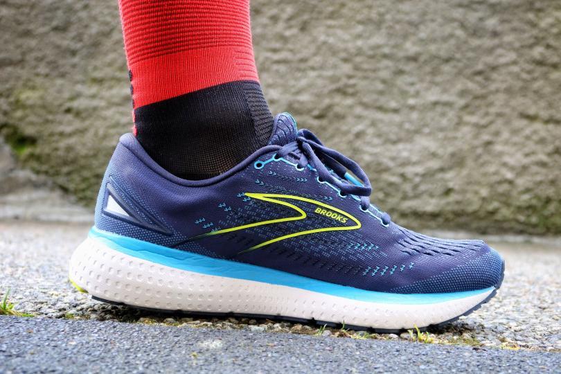 Test Brooks Glycerin 19 - chaussure de profil