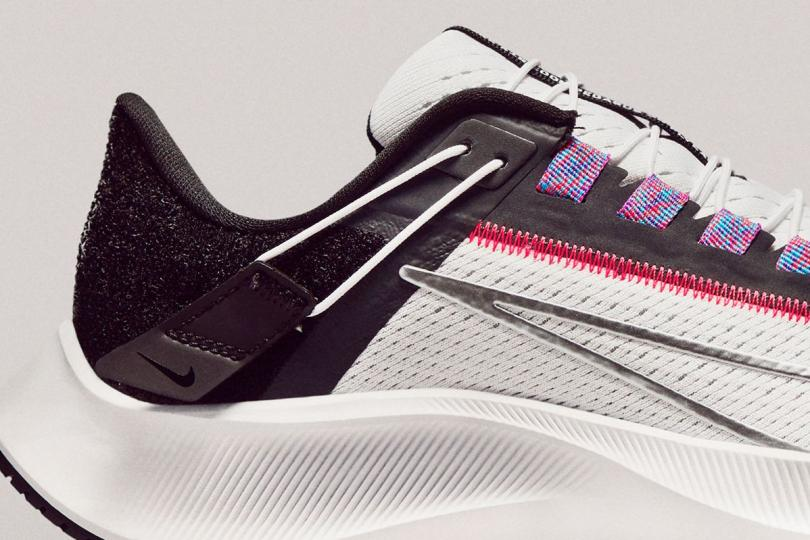 Nike Pegasus 38, renfort latéral
