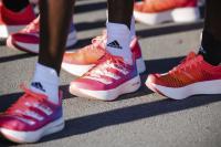 Adidas Adizero Adios Pro - Signal Pink. Départ de course