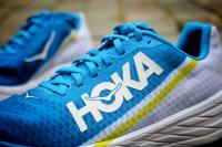 Hoka Rocket X - le logo Hoka
