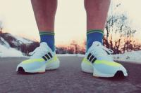 Adidas UltraBoost 21, sur la route