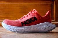 Hoka Carbon X 2, profil exterieur de la chaussure