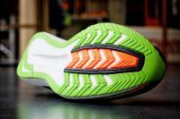Saucony Endorphin Pro, le dessous de la chaussure.